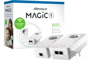 devolo Magic 1 WiFi Starter Kit 2-1-2