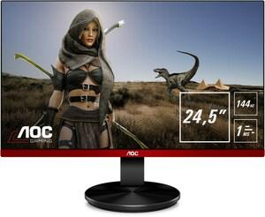 AOC G2590PX 62 cm (25´´) Gaming Monitor schwarz/rot / A