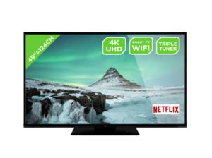 OK. ODL 49650UV-TIB, 124 cm (49 Zoll), DCI 4K, SMART TV, UHD LED TV, 1200, DVB-C, DVB-S2