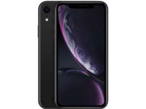 APPLE iPhone XR, Smartphone, 64 GB, Black, Dual SIM