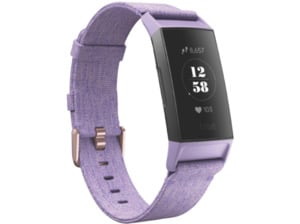 FITBIT  Charge 3 SE, Fitnesstracker, S: 140 mm - 180 mm, L: 180mm - 220 mm, Thermoplastische Elastomere (TPE), Lavender