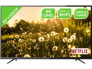 OK. ODL 55650U-TIB, 139 cm (55 Zoll), UHD 4K, SMART TV, LED TV, DVB-T2 HD, DVB-C, DVB-S2
