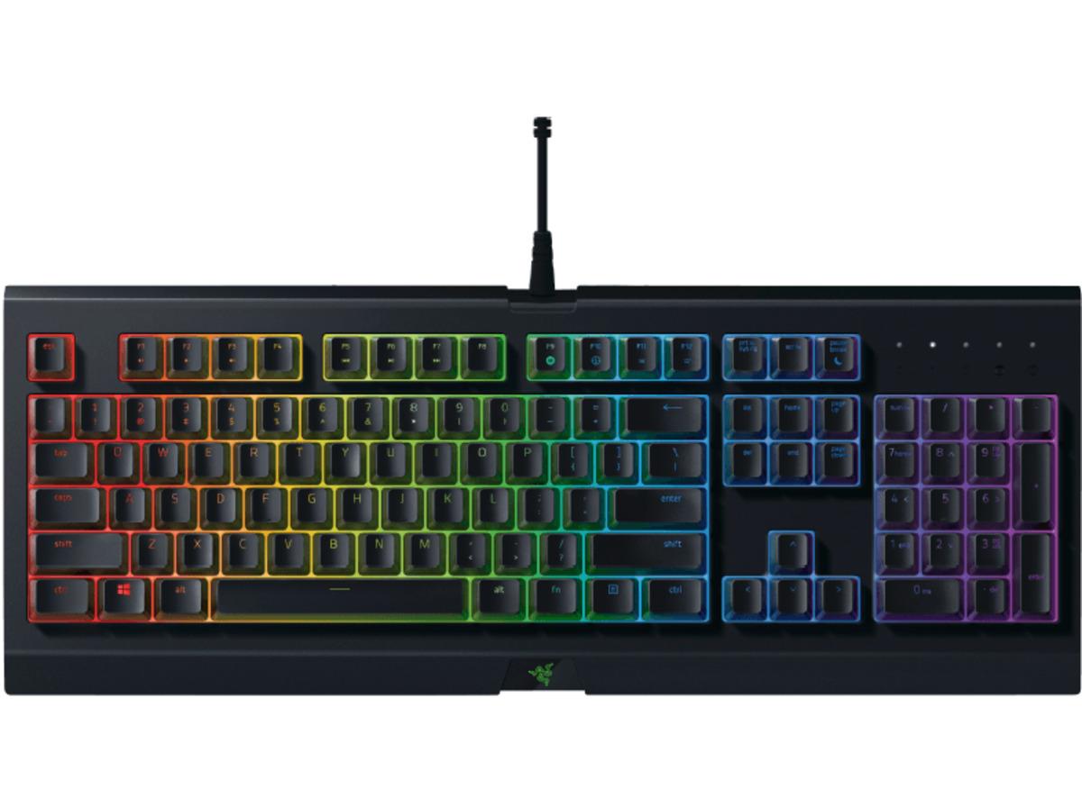 Bild 1 von RAZER Cynosa Chroma, Gaming Tastatur, Rubberdome