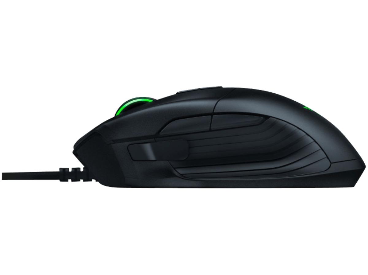 Bild 2 von RAZER Basilisk Gaming Maus, kabelgebunden, Schwarz/Grün