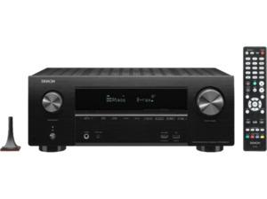 DENON AVR-X2500H, AV-Receiver, Phono-Eingang, Schwarz