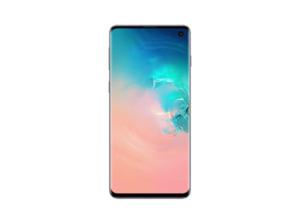 SAMSUNG Galaxy S10, Smartphone, 128 GB, Prism White, Dual SIM