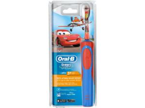 ORAL-B Stages Power Cars, elektrische Zahnbürste, Mehrfarbig