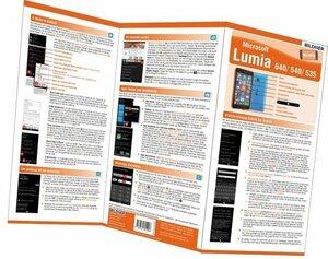 Microsoft Lumia 640 / 540 / 535 - die fehlende Anleitung!, 1 Falttafel