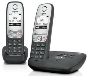 Gigaset Telefon A415 A Duo ,  schwarz