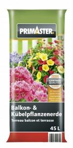 Primaster Balkon- & Kübelpflanzenerde ,  45 l