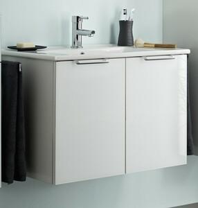 Waschtischunterschrank München ,  mit Keramikbecken, 54 x 75 x 45 cm