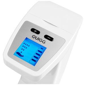 QUIGG Elektrischer Seifenspender MD 17282, Behälter bis zu 350ml, Automatische Reinigungsfunktion, Bewegungssensor
