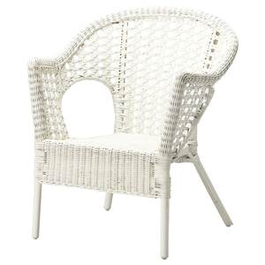 FINNTORP                                Sessel, weiß