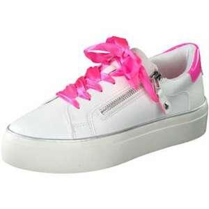 Barbarella Plateau Sneaker Damen weiß