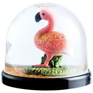 Schüttelkugel mit Flamingo-Figur