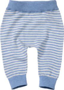 ALANA Baby-Strickhose, Gr. 62, in Bio-Baumwolle, blau, weiß, für Mädchen und Jungen