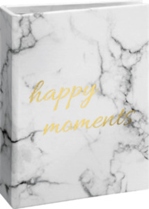 Paradies Fotoalbum Mini Marmor Happy Moments