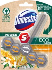 Domestos WC Stein Power 5 EcoPack Mandarinenblüte
