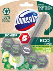 Domestos WC Stein Power 5 EcoPack Gurke & frische Blätter