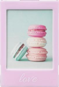 Paradies Bilderrahmen Mini Kunstoff rosa