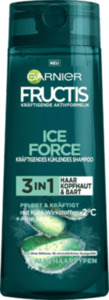 Fructis Shampoo Ice Force Aloe 3in1