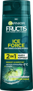 Fructis Shampoo Ice Force Limette 2in1