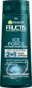 Fructis Shampoo Ice Force Pfefferminze 2in1