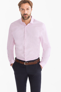 Angelo Litrico         Businesshemd - Slim Fit - Cutaway - Bio-Baumwolle
