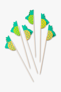 BUTLERS - Zahnstocher - Ananas - 12er Pack
