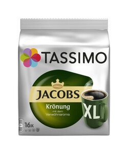 Tassimo Jacobs Krönung XL 16x 9 g