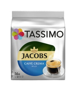 Tassimo Jacobs Caffè Crema mild 16x 5,6 g