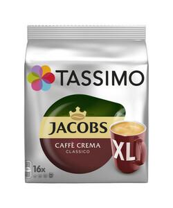 Tassimo Jacobs Caffè Crema Classico XL 16x 8,3 g