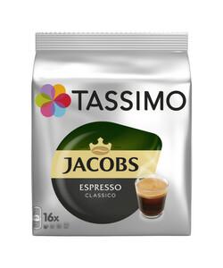 Tassimo Jacobs Kaffee Espresso Classico 16x 7,4 g