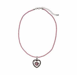 Damen-Halskette mit schönem Herz-Anhänger