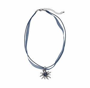 Damen-Halskette mit Edelweiß-Anhänger