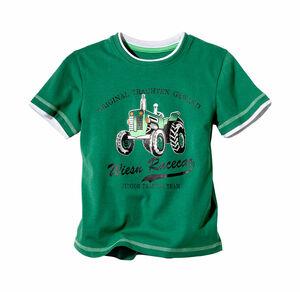Kids Jungen-Trachten-T-Shirt mit Wiesn-Aufdruck