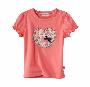 Liegelind Baby-Mädchen-Trachten-T-Shirt mit süßem Rehkitz