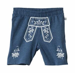 Liegelind Baby-Jungen-Trachten-Shorts mit traditionellem Latz