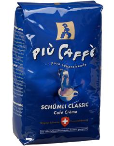 Piu Caffe Schümli Classic Kaffee ganze Bohnen 1 kg
