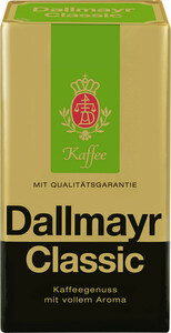Dallmayr Kaffee Classic gemahlen 500 g