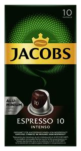Jacobs Espresso 10 Intenso Kaffeekapseln 10x 5,2 g