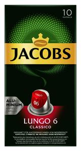 Jacobs Lungo 6 Classico Kaffeekapseln 10x 5,2 g