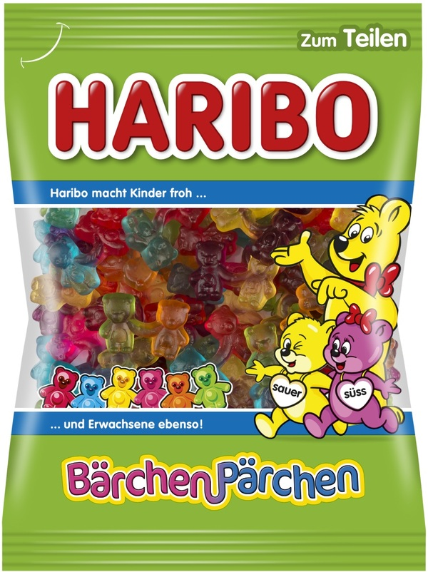 Haribo Bärchen-Pärchen  175 g