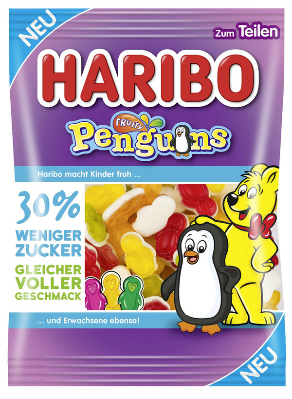 Haribo Fruity Penguins 160 g