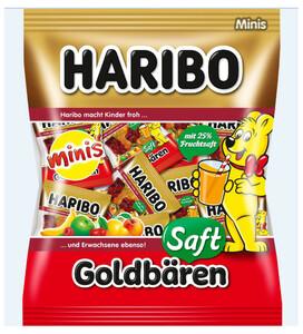 Haribo Saft Goldbären Mini Einzelportionen 220 g