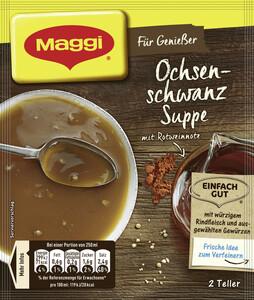 Maggi Für Genießer Ochsenschwanz Suppe ergibt 500 ml