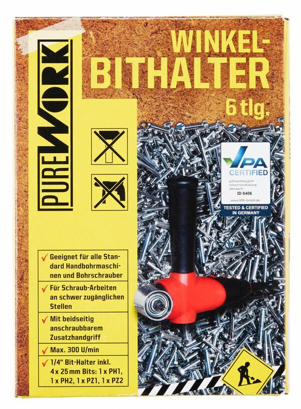 Pure Work Winkel-Bithalter