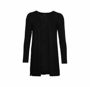 Laura Torelli Young Fashion Damen-Strickjacke im Cardigan-Stil