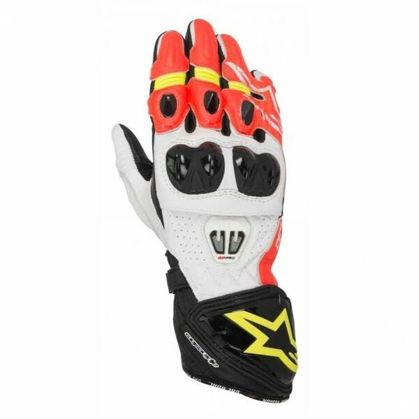 Alpinestars            GP Pro R2 Handschuh schwarz/neongelb/rot S