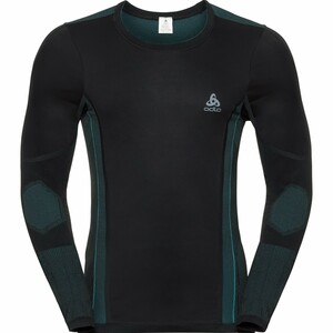 Odlo            Funktionsshirt Performance Windshield schwarz/lake blue
